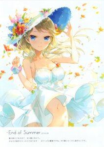 Rating: Questionable Score: 59 Tags: cleavage dress fuumi nopan radial_engine see_through summer_dress User: yong