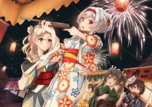 Rating: Safe Score: 10 Tags: akagi_(kancolle) gun hornet_(kancolle) k_jie kaga_(kancolle) kantai_collection shoukaku_(kancolle) tagme yukata zuikaku_(kancolle) User: BattlequeenYume