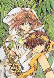 Rating: Safe Score: 11 Tags: clamp kinomoto_sakura li_syaoran tsubasa_reservoir_chronicle User: Share