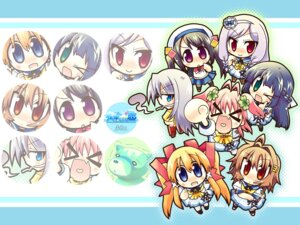 Rating: Safe Score: 4 Tags: asa_project atchi_muite_koi chibi wallpaper User: blooregardo