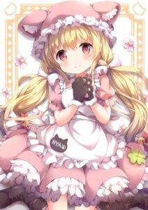 Rating: Safe Score: 28 Tags: animal_ears maid nekomimi niwasane_(saneatsu03) User: BattlequeenYume