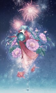 Rating: Safe Score: 28 Tags: hatsune_miku japanese_clothes mirusa vocaloid User: Fuuraiken