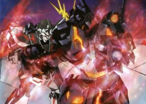 Rating: Safe Score: 9 Tags: banshee gundam gundam_unicorn mecha unicorn_gundam User: Radioactive