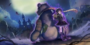 Rating: Safe Score: 26 Tags: annie_hastur dress league_of_legends lolita_fashion tagme thighhighs tibbers User: Radioactive