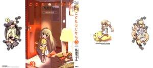 Rating: Safe Score: 8 Tags: cleavage garter kagami_kuro kodomo_no_jikan kokonoe_rin maid pajama seifuku thighhighs usa_mimi watashiya_kaworu User: jjj14