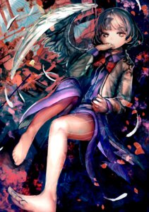Rating: Safe Score: 29 Tags: dress kishin_sagume orga touhou wings User: Mr_GT