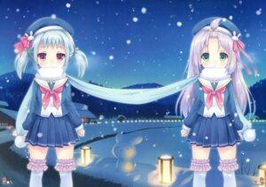 Rating: Questionable Score: 40 Tags: garter roritora seifuku thighhighs tsukishima_yuuko User: Twinsenzw