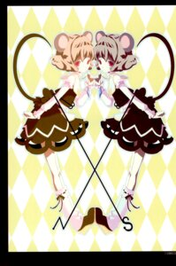 Rating: Safe Score: 9 Tags: animal_ears kanno_touko kyokutou_hanayome nazrin tail touhou User: Radioactive