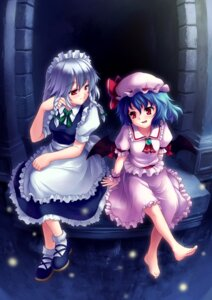 Rating: Safe Score: 7 Tags: izayoi_sakuya remilia_scarlet touhou xj User: yumichi-sama