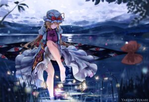 Rating: Safe Score: 42 Tags: dress touhou wet xiaoyin_li yakumo_yukari User: Mr_GT