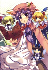 Rating: Safe Score: 32 Tags: chibi kiba_satoshi luna_child patchouli_knowledge star_sapphire sunny_milk touhou User: Radioactive