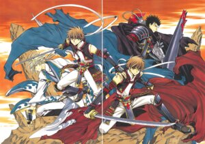 Rating: Safe Score: 2 Tags: clamp fai_d._flourite gap kurogane li_syaoran tsubasa_reservoir_chronicle User: LulukoVladmont