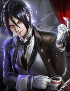 Rating: Safe Score: 10 Tags: kuroshitsuji male sakimichan sebastian_michaelis User: sylver650