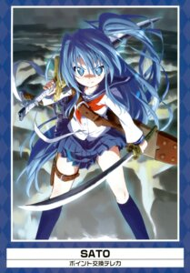 Rating: Safe Score: 19 Tags: sato seifuku sword User: Aurelia