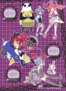 Rating: Questionable Score: 10 Tags: disgaea etna harada_takehito pleinair pointy_ears tail thighhighs weapon wings User: fireattack