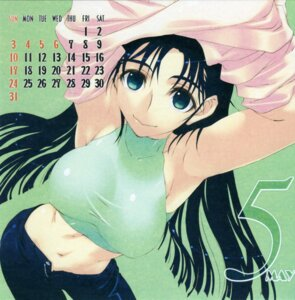 Rating: Questionable Score: 9 Tags: amaduyu_tatsuki calendar undressing User: admin2