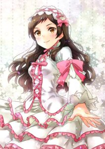 Rating: Safe Score: 15 Tags: dress kitazawa_shiho sato-pon the_idolm@ster the_idolm@ster_million_live User: Mr_GT