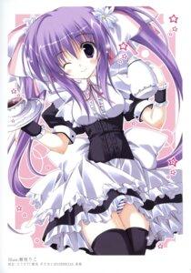 Rating: Safe Score: 28 Tags: k-books korie_riko pantsu shimapan thighhighs waitress User: WtfCakes