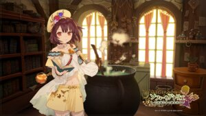 Rating: Safe Score: 40 Tags: atelier_sophie cleavage koei_tecmo noco sophie_neuenmuller thighhighs wallpaper User: yong
