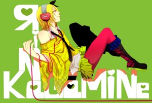 Rating: Safe Score: 11 Tags: headphones kagamine_rin nagashino pantyhose vocaloid User: charunetra