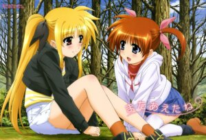 Rating: Safe Score: 42 Tags: fate_testarossa mahou_shoujo_lyrical_nanoha mahou_shoujo_lyrical_nanoha_a's mahou_shoujo_lyrical_nanoha_the_movie_2nd_a's okuda_yasuhiro takamachi_nanoha thighhighs User: Jigsy