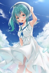 Rating: Safe Score: 26 Tags: dress kokuto_(kurousagi1210) see_through skirt_lift summer_dress tagme User: KasakiNozomi
