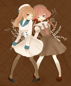 Rating: Safe Score: 2 Tags: dress pantyhose ruchiru seifuku User: Nekotsúh