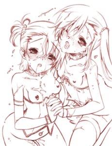 Rating: Explicit Score: 19 Tags: bukkake cum futami_ami futami_mami lingerie loli monochrome nipples pussy_juice senomoto_hisashi the_idolm@ster thighhighs User: fairyren