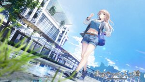 Rating: Safe Score: 42 Tags: azamino_tsubaki cleavage landscape laplacian mirai_radio_to_jinkou_hato smoking tagme wallpaper User: saemonnokami