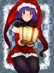 Rating: Safe Score: 4 Tags: bakuya christmas nagae_iku pantyhose touhou User: Mr_GT