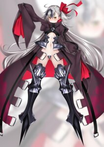 Rating: Questionable Score: 24 Tags: armor cosplay fate/grand_order jeanne_alter maebari meltlilith nopan thighhighs underboob watosu User: NotRadioactiveHonest