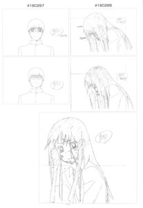 Rating: Safe Score: 2 Tags: kanou_sumire kitamura_yuusaku monochrome sketch toradora! User: superogira