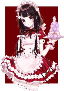 Rating: Safe Score: 32 Tags: garter maid nijisanji sinsihukunokonaka skirt_lift tsukino_mito User: Mr_GT