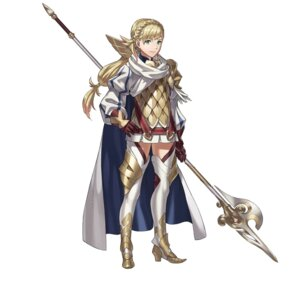 Rating: Safe Score: 9 Tags: armor fire_emblem fire_emblem_heroes heels kozaki_yuusuke nintendo sharena thighhighs weapon User: fly24