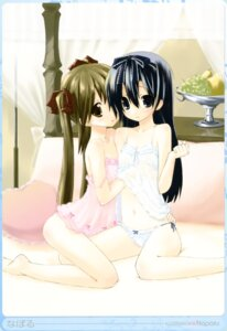 Rating: Questionable Score: 67 Tags: lingerie loli naporu pantsu string_panties yuri User: midzki