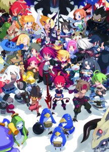 Rating: Safe Score: 21 Tags: adell armor axel_(disgaea) cleavage devil disgaea disgaea_2 dress elf etna flonne geo_master guitar hanako harada_takehito horns kunoichi_(disgaea) laharl magician monster ninja penguin pointy_ears prinny rozalin sword tail taro_(disgaea) tink wings yukimaru User: Radioactive