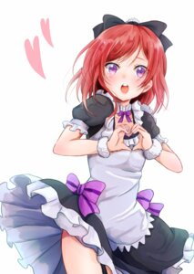 Rating: Safe Score: 39 Tags: lilylion26 love_live! maid nishikino_maki User: charunetra