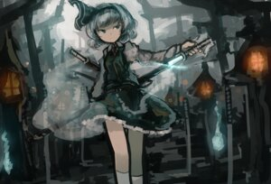 Rating: Safe Score: 17 Tags: konpaku_youmu mifuru sword touhou User: Mr_GT