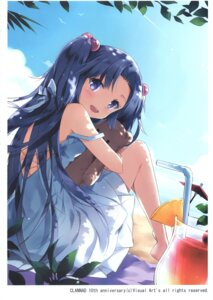 Rating: Questionable Score: 32 Tags: clannad dress ichinose_kotomi neko_no_onsen nyanya summer_dress User: Radioactive