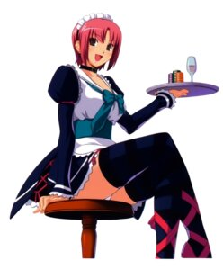 Rating: Safe Score: 34 Tags: koutaro rio super_blackjack thighhighs waitress User: Radioactive