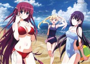Rating: Questionable Score: 102 Tags: bikini breast_hold cleavage grisaia_no_kajitsu matsushima_michiru sakaki_yumiko school_swimsuit suou_amane swimsuits underboob User: donicila