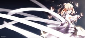 Rating: Safe Score: 66 Tags: armor dress fate/stay_night magicians saber saber_lily sword User: Mr_GT
