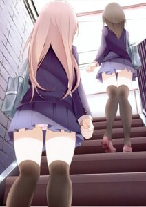 Rating: Questionable Score: 37 Tags: oouso pantsu seifuku thighhighs usotsukiya User: Hatsukoi