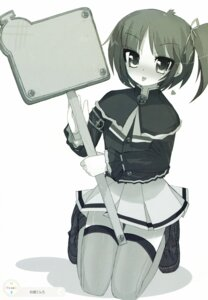 Rating: Safe Score: 4 Tags: black_lemon-chan koujima_tenro melonbooks monochrome thighhighs User: syaoran-kun