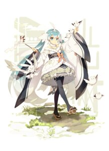 Rating: Safe Score: 21 Tags: hatsune_miku japanese_clothes lf pantyhose vocaloid yuki_miku User: Mr_GT