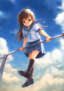 Rating: Safe Score: 39 Tags: goto-p narcissu sakura_setsumi seifuku User: Anonymous