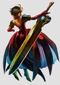 Rating: Safe Score: 14 Tags: dress nakamura_eito sword User: Radioactive