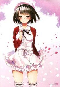 Rating: Safe Score: 50 Tags: dress katou_megumi saenai_heroine_no_sodatekata saenai_heroine_no_sodatekata_flat sakuragi_ren thighhighs User: Twinsenzw