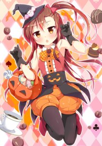 Rating: Safe Score: 35 Tags: anthropomorphization bloomers cafe-chan_to_break_time cafe_(cafe-chan_to_break_time) halloween heels pantyhose porurin witch User: fairyren