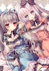 Rating: Questionable Score: 18 Tags: cleavage dress gothic_lolita lolita_fashion rubi-sama thighhighs ur_wave User: kiyoe